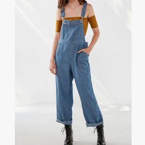 Urban Outfitters BDG Zip Pocket Overalls Striped